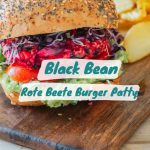 Black Bean Rote Beete Burger Patty