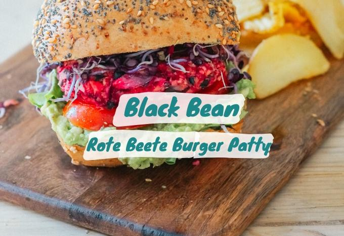 Black Bean Rote Beete Burger Patty