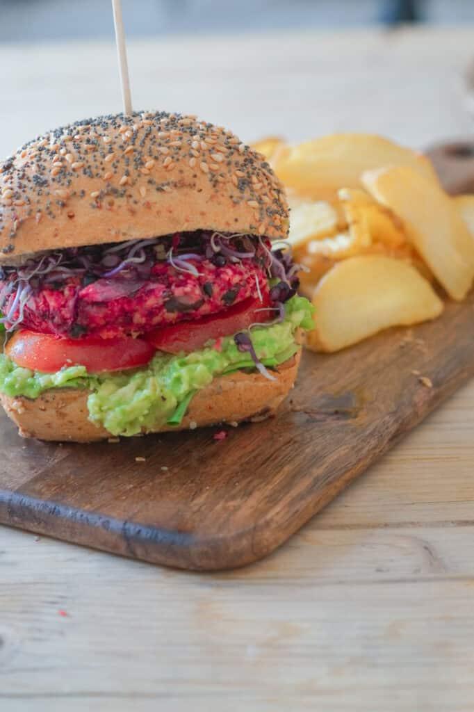 Schwarze Bohnen Burger Vegan