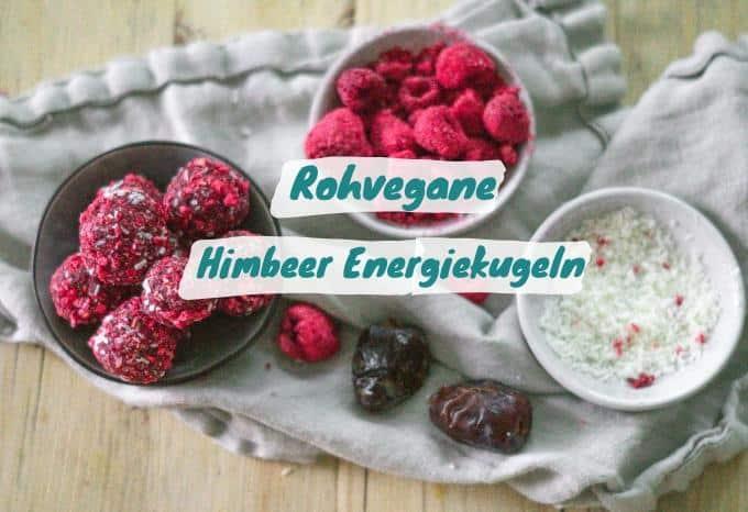 Rawballs Himbeer Kokos
