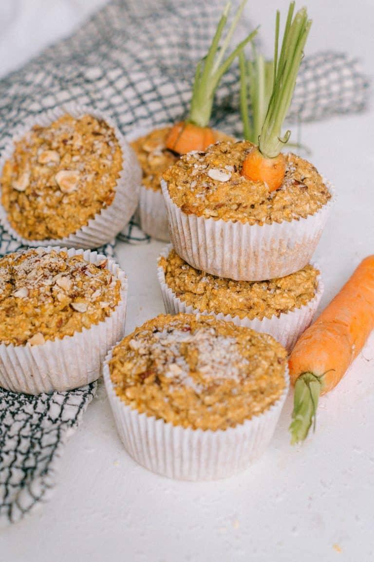 Vegan Muffin Möhrenkuchen