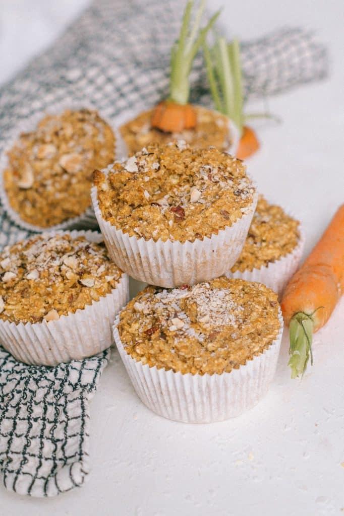 Vegan Muffin Rezept Möhrenkuchen