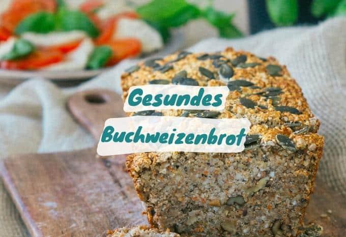 Brot aus Buchweizen Vegan