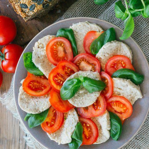Vegane Cashew Mozzarella Rezept