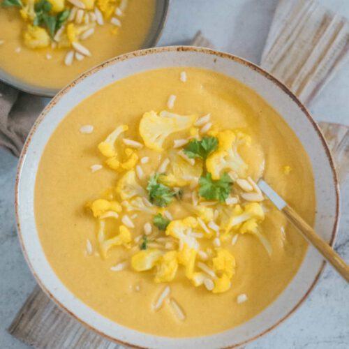 Blumenkohl Suppe Vegan Einfach