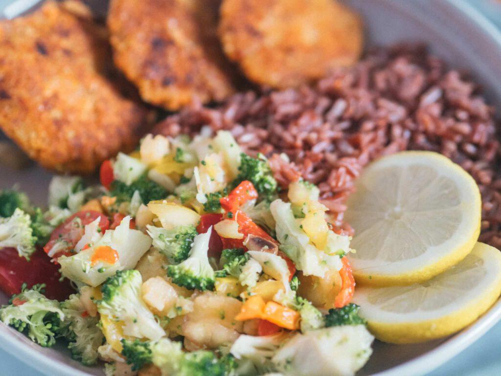 Brokkoli Salat einfach vegan