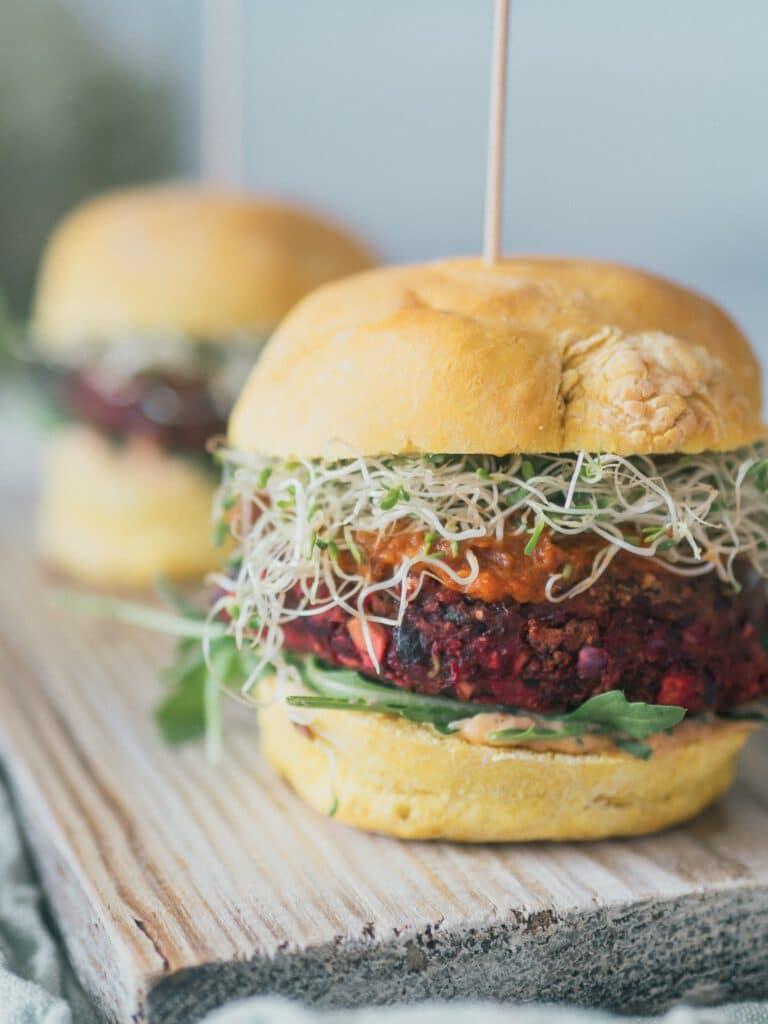 Vegane Black Bean Burger selber machen
