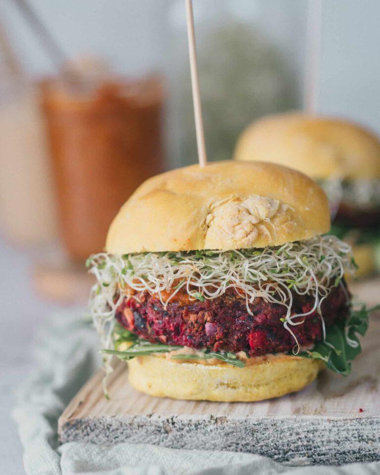 Black Bean Burger Vegan selber machen