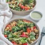 Veganer Sommersalat