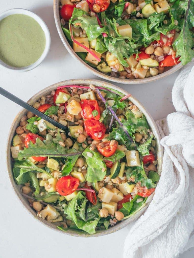 Veganer Sommersalat Rezept