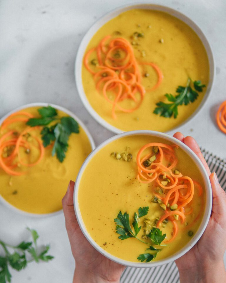 Gelbe Bete Suppe Rezept vegan
